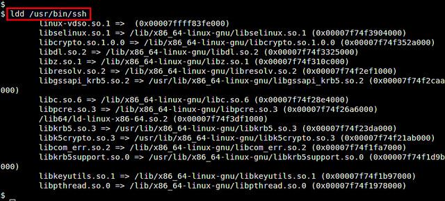 如何查看Linux上程序或进程用到的库